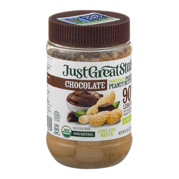 Just Great Stuff Powdered Organic Peanut Butter Chocolate