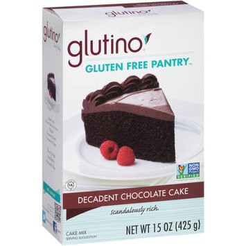 Glutino Gluten Free Pantry Decadent Chocolate Cake Mix, 15 oz