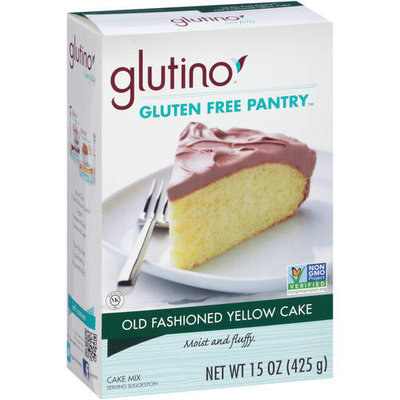 Glutino Gluten Free Pantry Old Fashioned Yellow Cake