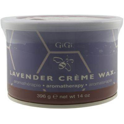 GIGI WAX 0870 LAVENDER CREME WAX 14oz.