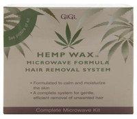 GiGi Hemp Wax Microwave Formula Hair Removal System Kit