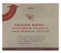 Gigi Wax 0125 Sugar Bare Microwave Kit