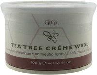 Gigi Wax 0240 Tea Tree Creme Wax 14Oz.