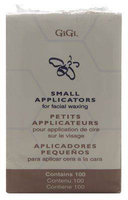 GiGi Small Applicators for Facial Waxing 100 Sticks