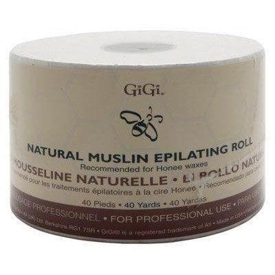 Gigi Natural Muslin Epilating Roll