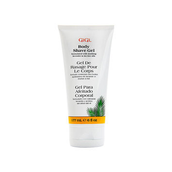 GiGi Brazilian Shave Gel Perfect for Bikini, Underarms Legs