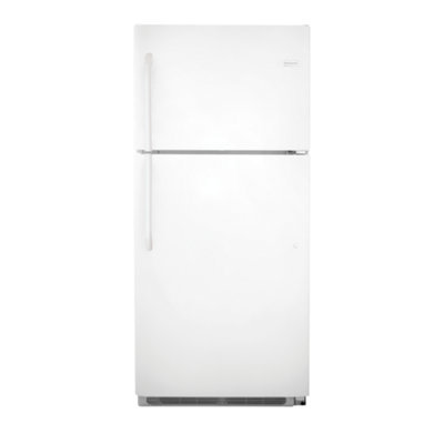 Frigidaire FFHT2131QP 20.5 Cu. Ft. White Top Freezer Refrigerator - Energy Star