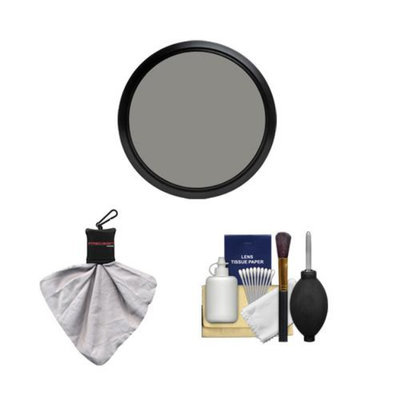 Precision Design 77mm Variable NDX Neutral Density Filter with Cleaning Kit for Canon, Nikon, Sony, Olympus & Pentax Lenses