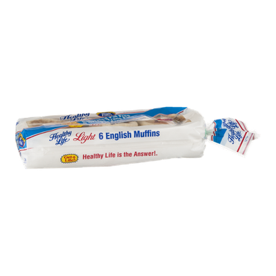 Healthy Life English Muffins Light - 6 CT