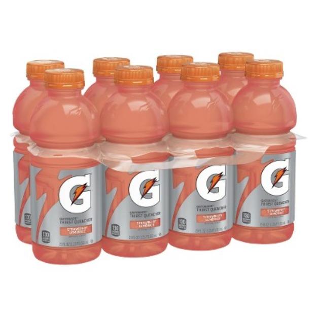 Gatorade Strawberry Lemonade 8PK 20OZ