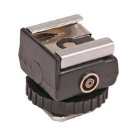 Dot Line DL-0418 Hot Shoe - Tripod Mount PC With 1/4-20 Female Thread Adapter