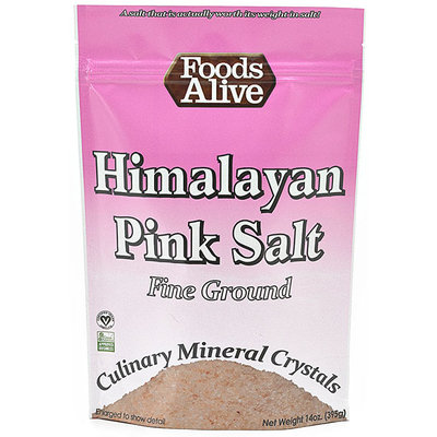 Foods Alive Himalayan Crystals-14 oz-Salt