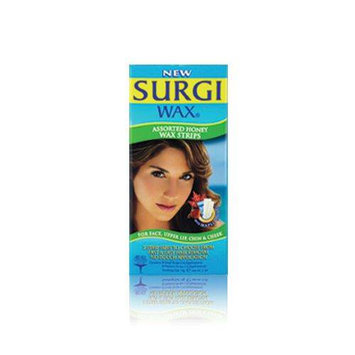 Surgi-Care Surgi-Wax Honey Wax Strips Assorted