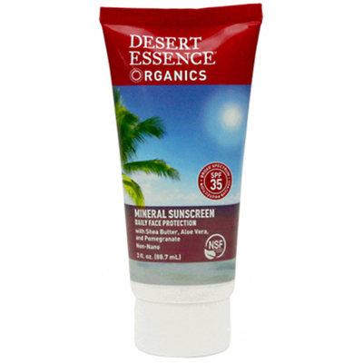 Desert Essence - Mineral Sunscreen 35 SPF - 3 oz.