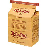 Bil-Jac Frozen Dog Food, 20 lbs, Case of 4 - 5 lb. bags