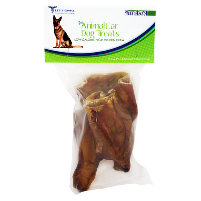 David Shaw Silverware Na Ltd Smoked Pig Ears, 3 Pack