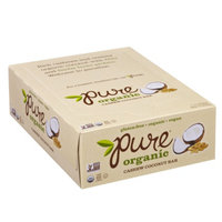 Pure Organic Raw Fruit & Nut Bar Cashew Coconut, 12 ea