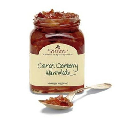 Stonewall Kitchen Kitchen Mini Orange Cranberry Marmalade, 4-Ounce Jars (Pack of 6)