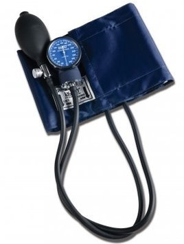 Labstar Latex-free Adult Sphygmomanometer, Blue