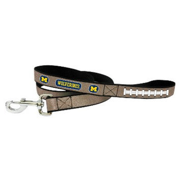 GameWear Michigan Wolverines Reflective Football Leash - L