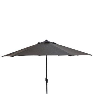 Smith & Hawken Auto Tilt Patio Umbrella - Espresso 10'