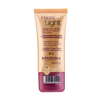 Bourjois Happy Light Foundation SPF15 - # 11 Rose 30ml/1oz