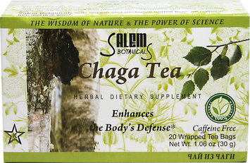 Salem Botanicals Chaga Herbal Tea-20-Tea Bags