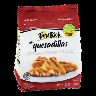 Farm Rich Mini Cheese & Chicken Quesadillas - 11 to 13 Slices