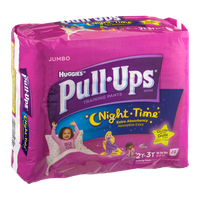 Pull-Ups® Night*Time Training Pants Disney Glow in The Dark for Girls 2T-3T