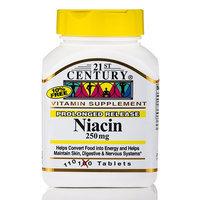21st Century Healthcare Niacin 250 mg 110 Tablets, 21st Century Health Care
