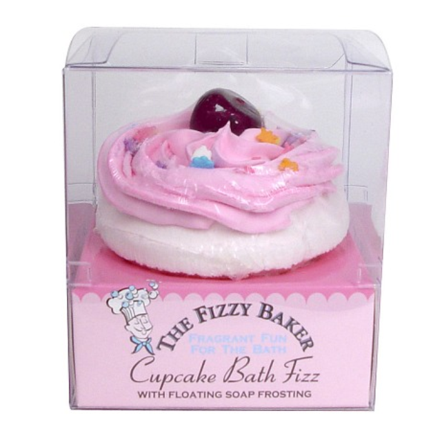 Smith & Vandiver The Fizzy Baker Cupcake Bath Fizz Cherry Cheesecake