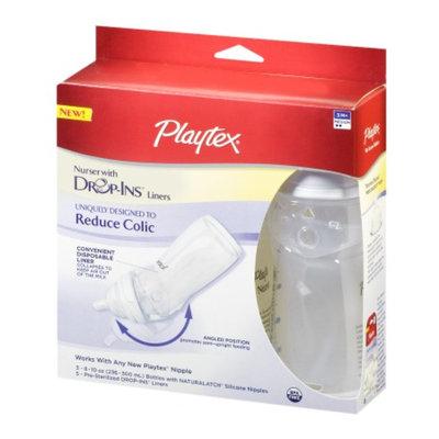 Playtex Drop-Ins System Nurser Bottles with Slow Flow Nipples