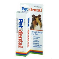 Four Paws PetDental Breath Spray, 4oz.