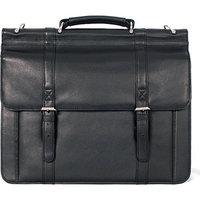 Dr. Koffer Fine Leather Accessories Sergei Classic Flapover Brief
