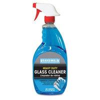 Boardwalk Go-Jo 34112 RTU Glass Cleaner, 32 oz. Trigger Bottle