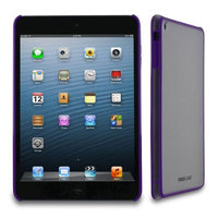 rooCASE Snap-On Slim Fit Fuse Hard TPU Shell Skin Case Cover for Apple for Apple iPad Mini with Retina Display, Purple
