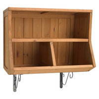 Merry Products Wall Cubby with Brackets