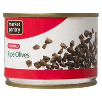 market pantry Market Pantry Black Chopped Ripe Olives 4.25 oz