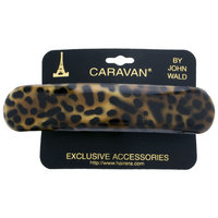 Caravan Animal Print Oblong Barrette