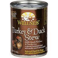 Wellness Turkey and Duck Stew Dog Food - 12.5 oz