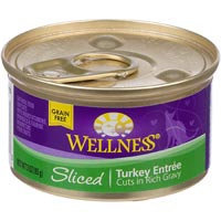 Wellness Sliced Canned Cuts Turkey Adult Canned Cat Food