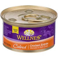 Wellness Cubed Canned Cuts Chicken Adult Canned Cat Food