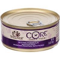 Wellness CORE Chicken, Turkey & Chicken Liver Canned Kitten Food, 5.5 oz.