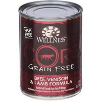 Wellness CORE Beef, Venison & Lamb Formula Canned Dog Food