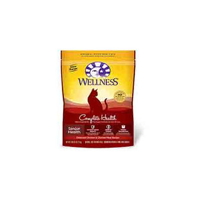 Wellness Complete Health Natural Dry Cat Food - Senior Health Recipe - 2.9lb