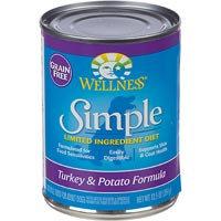 Wellness Simple Grain Free Turkey Dog Food 12 Pack
