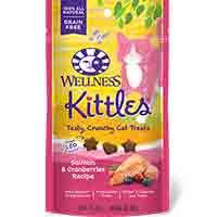 Wellness Kittles Crunchy Cat Treats - Salmon - 2 oz.