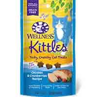 Wellness Kittles Crunchy Cat Treats - Chicken - 2 oz.