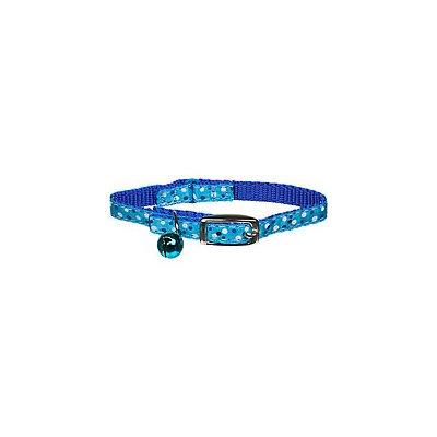 Coastal Pet Products Coastal Pet Li'l Pals Blue Dots Kitten Collar with Bell, Small
