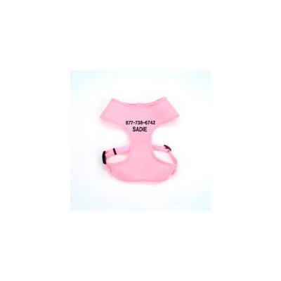 Coastal Pet Products Coastal Pet Medium Personalized Mesh Dog Harness in Pink, 20 -29 Girth